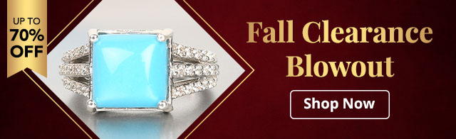 Fall Clearance Blowout